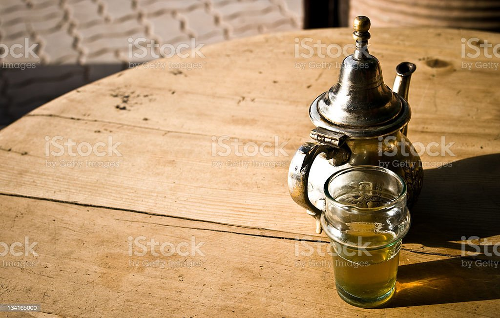 North african tea royalty-free stock photo