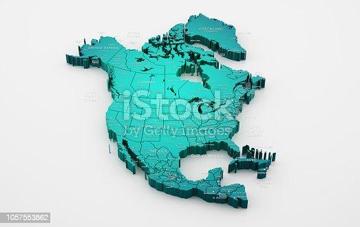 171057063istockphoto North America Map 1057553862