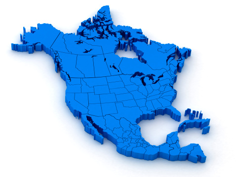 186815169 istock photo North America Map 171057063