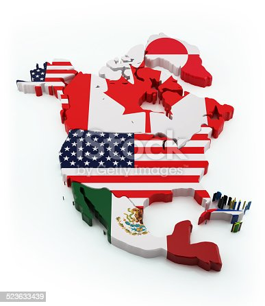 171057063istockphoto North America map 523633439
