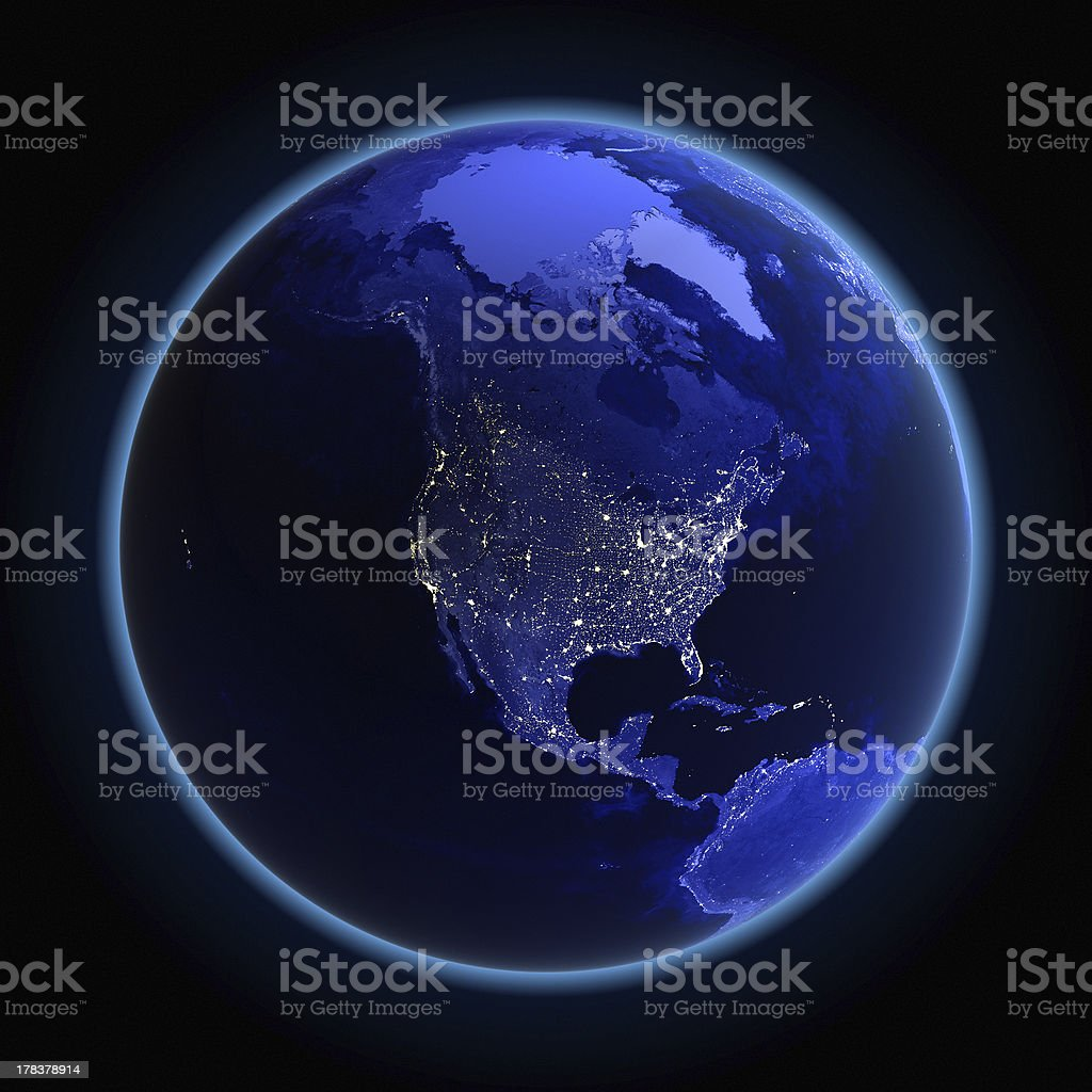 North America stock photo