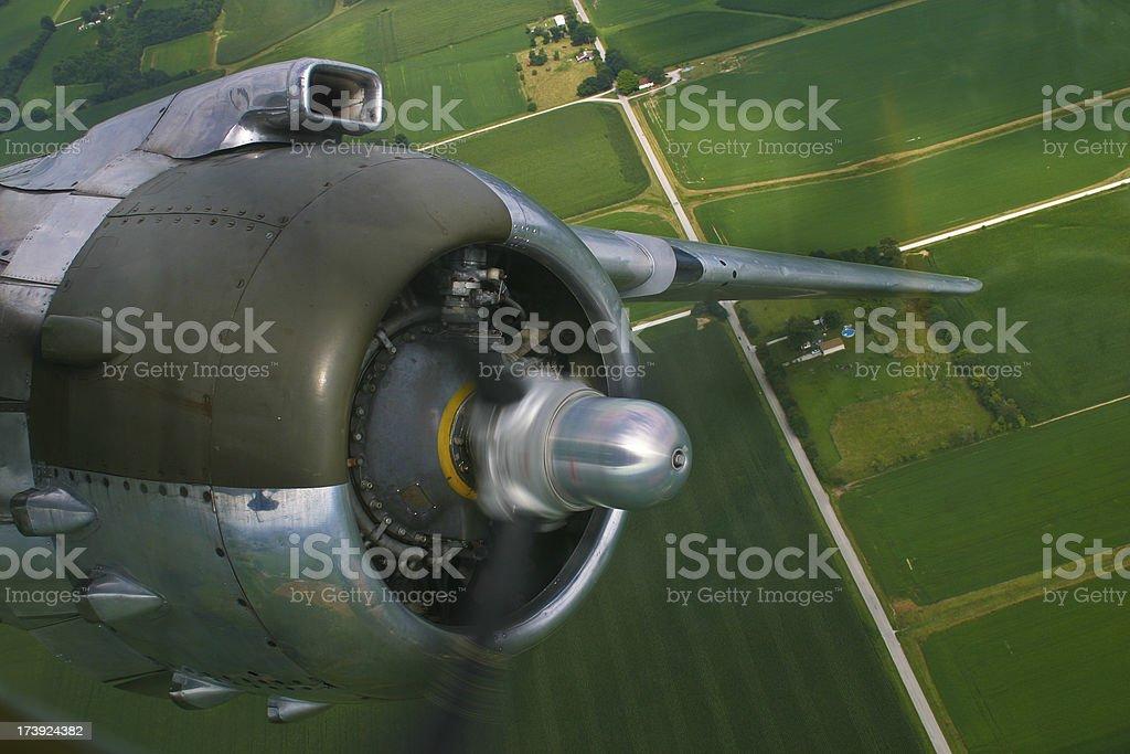 North American B-25 Mitchell Bomber stock photo