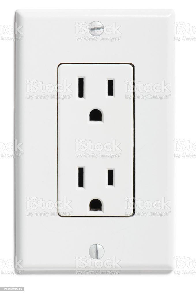 North American Electrical Socket stock photo