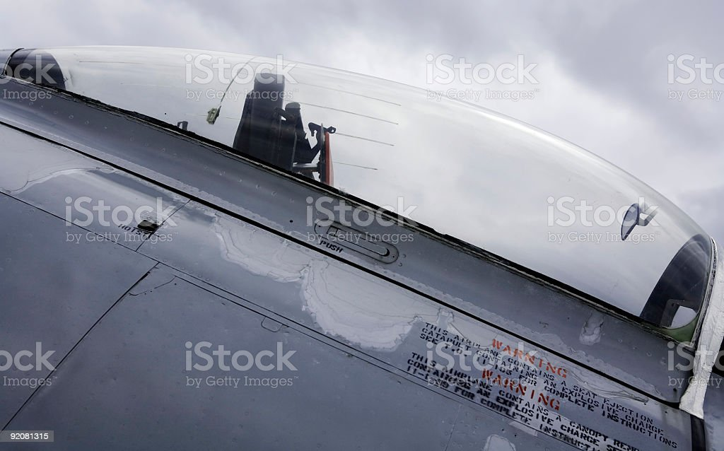 North American F-86A Sabre 03 royalty-free stock photo