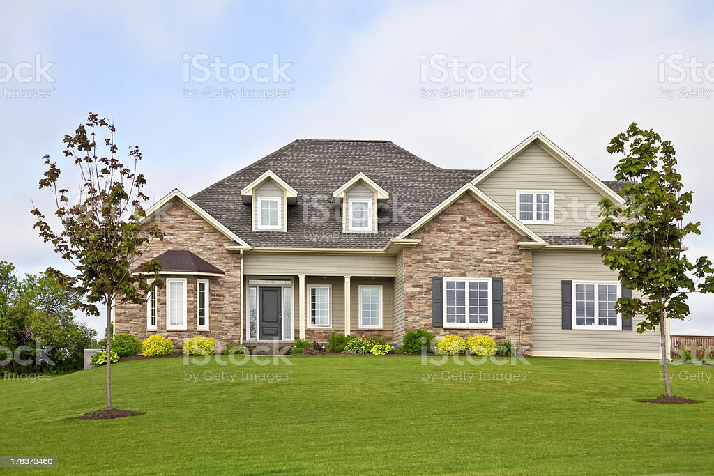 North American Home stock photo
