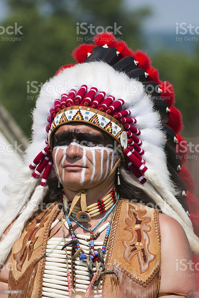 North American Indian royalty-free stock photo