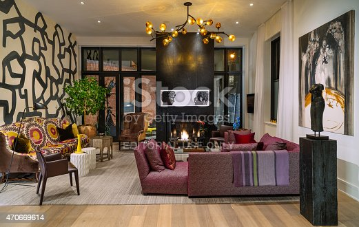 470812928 istock photo North American Luxury Condo interior 470669614