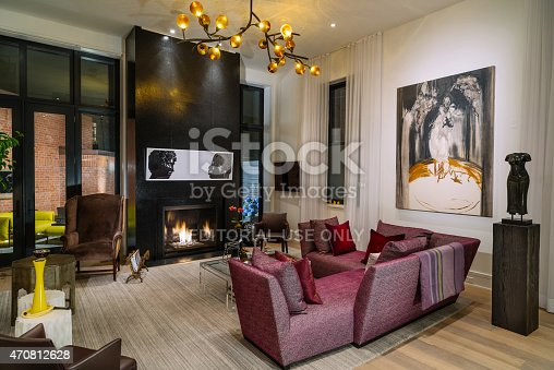 470812928 istock photo North American Luxury Condo interior 470812628