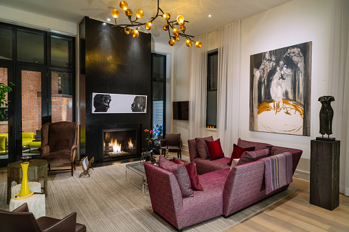 North American Luxury Condo interior