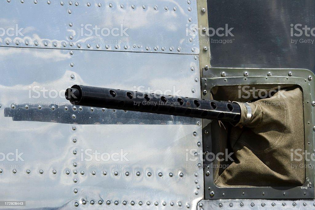 B-25 North American Mitchell Waist Gun stock photo