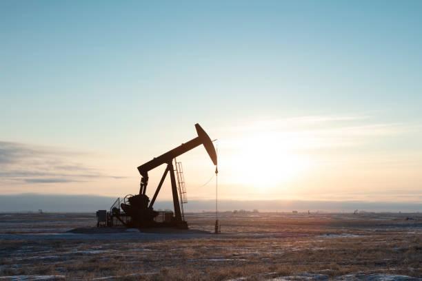 North American  Oil stock photo