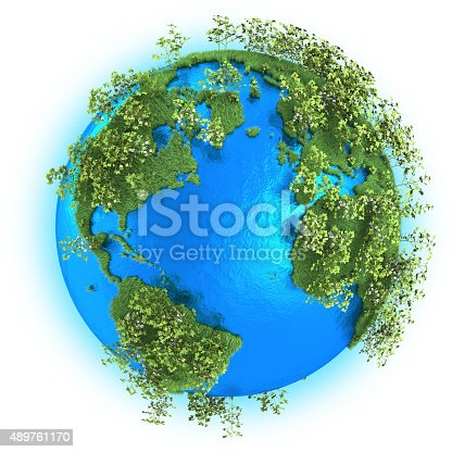 186020817istockphoto North and South America, Europe and Africa on planet Earth 489761170
