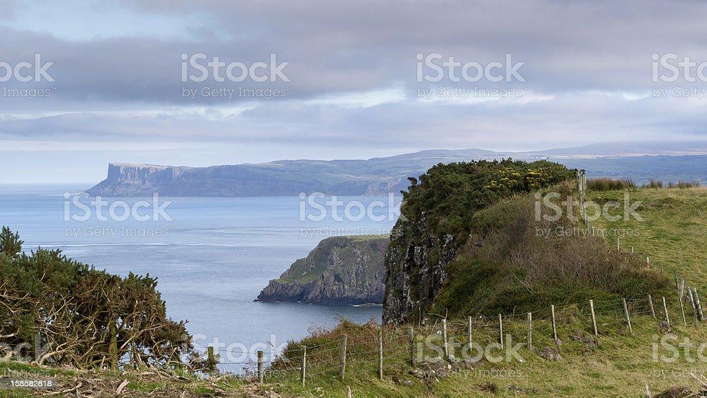 North Antrim Coast, Northern Ireland stock photo