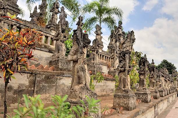 North Balinese Hindu Temple near Singaraja, Bali stock photo
