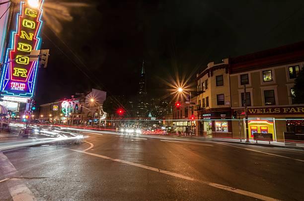 North Beach, San Francisco - foto stock