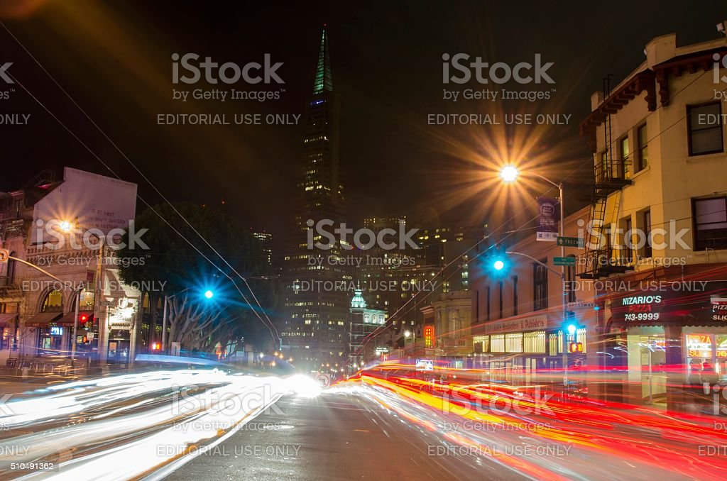 North Beach, San Francisco stock photo