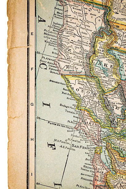 Northern California Map Pictures Images And Stock Photos IStock - North california map