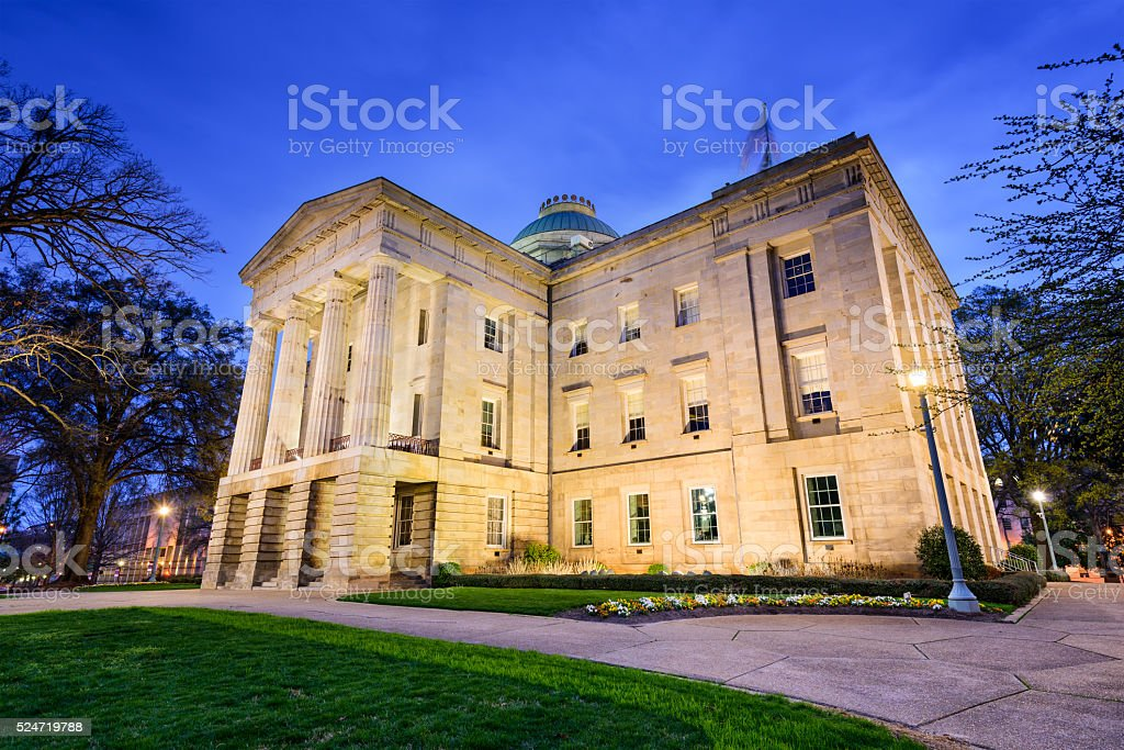 North Carolina Capitol Building stock photo