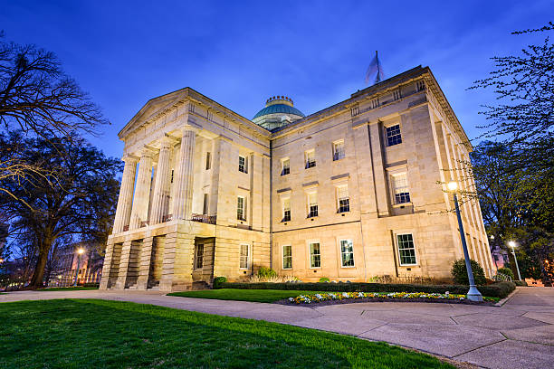 North Carolina Capitol Building stock photo