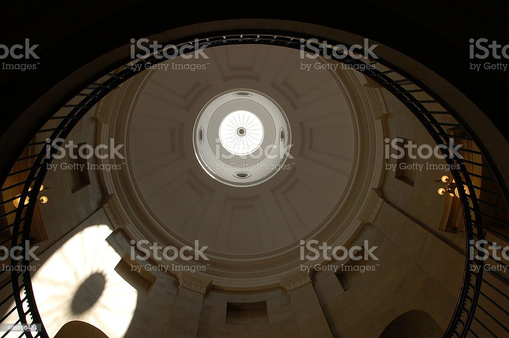 North Carolina Capitol Dome stock photo