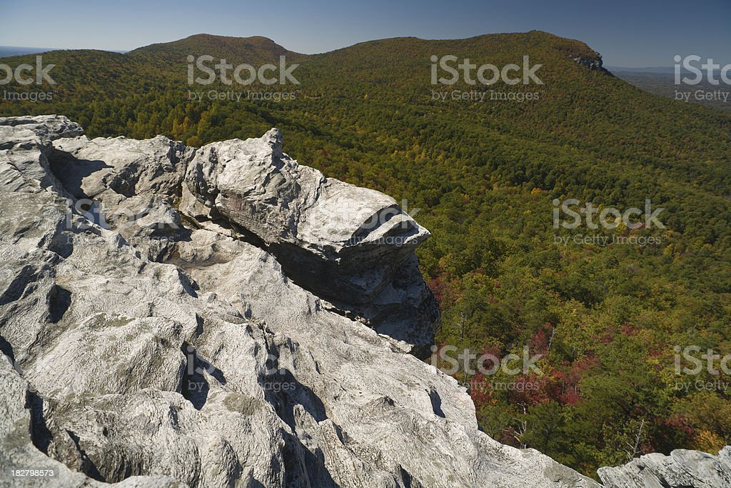 North Carolina Herbst in Hanging Rock State Park – Foto