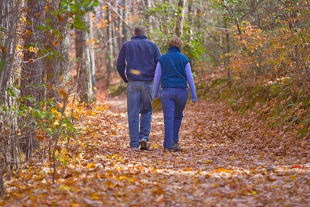 North Carolina Herbst in Hanging Rock State Park – Foto