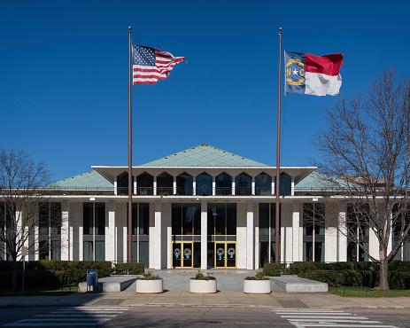 North Carolina Legislative building