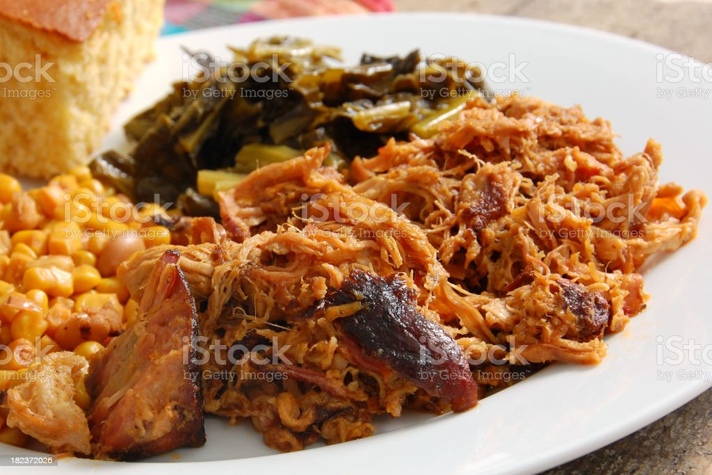 North Carolina Pulled Pork stock photo