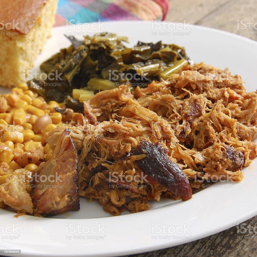 North Carolina Pulled Pork royalty-free stock photo