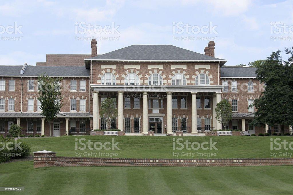 North Carolina State Campus - 1911 Building stock photo