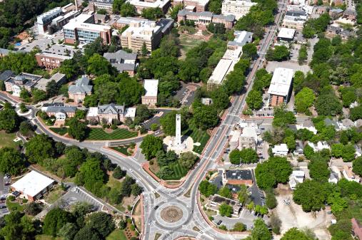 istock North Carolina State University - Aerial View 507376629