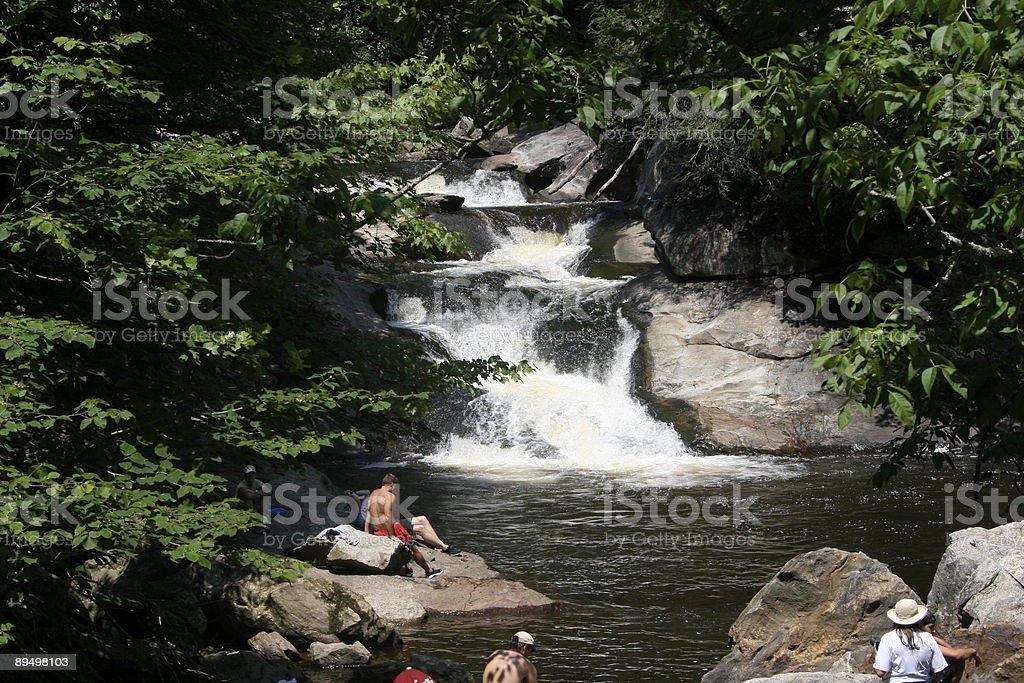 Foro di nuoto del North Carolina foto stock royalty-free
