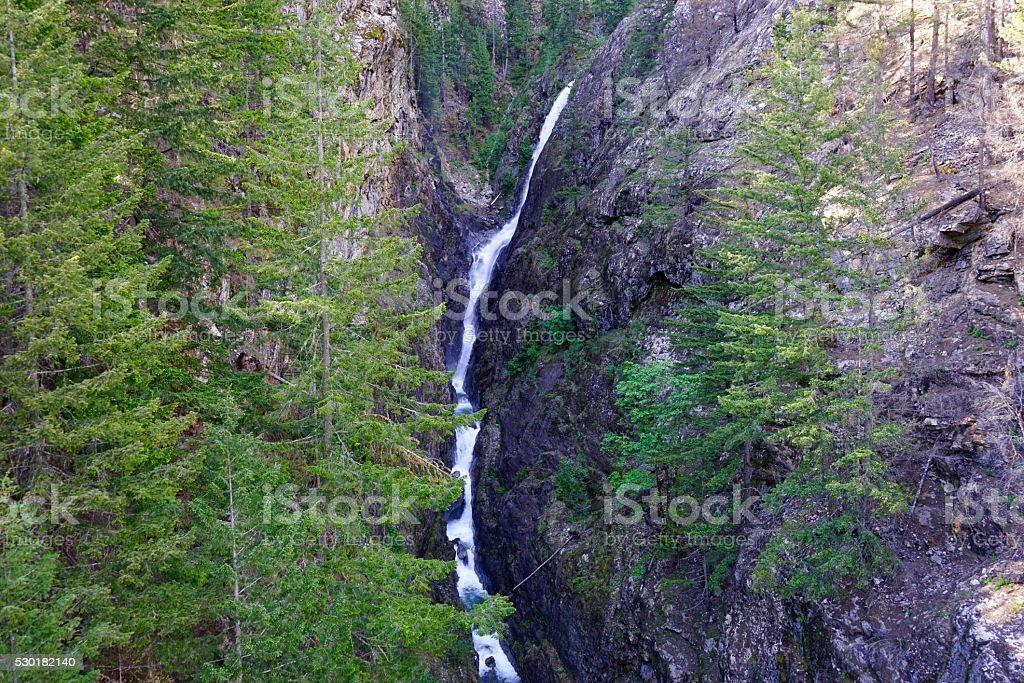 North Cascades Gorge Creek stock photo