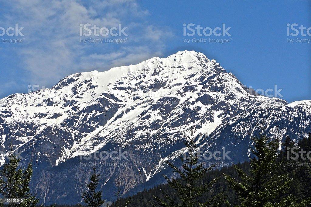 North Cascades High Peak stock photo
