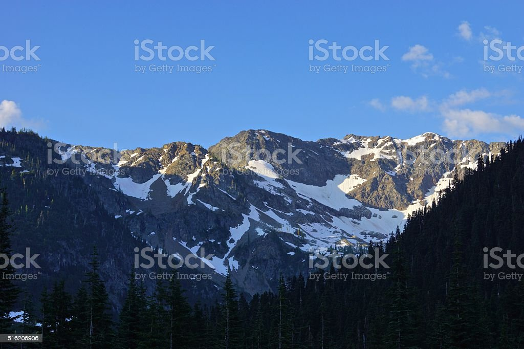 North Cascades Morning stock photo