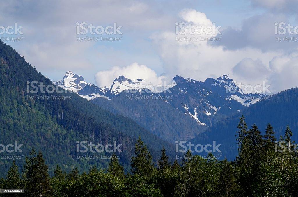 North Cascades National Park stock photo