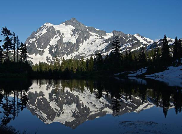 North Cascades Nirvana - foto de acervo