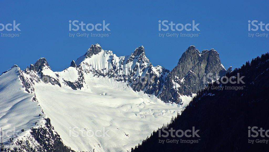 North Cascades Remote stock photo