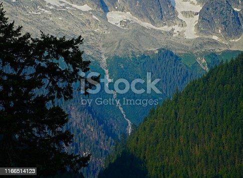 Northern Washington's Cascade Range. North Cascades National Park/SE. Mt. Baker-Snoqualmie N.F. Edge.