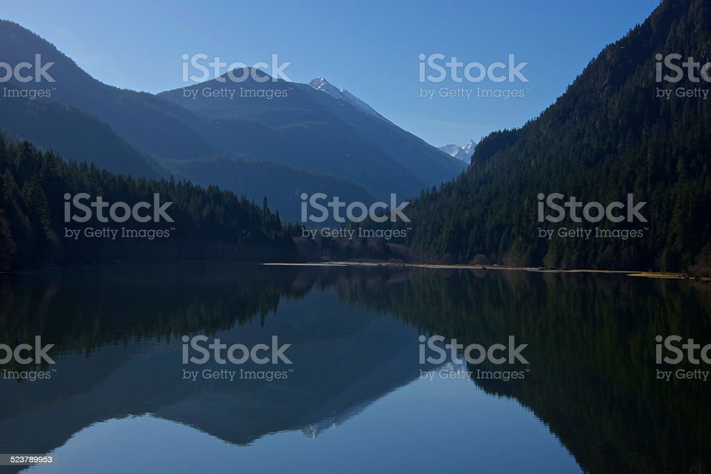 North Cascades Thunder Arm stock photo