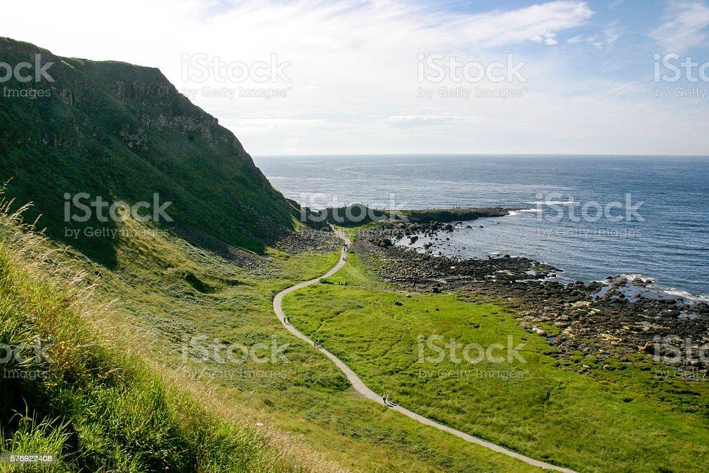 North Causeway Coast, N Ireland stock photo