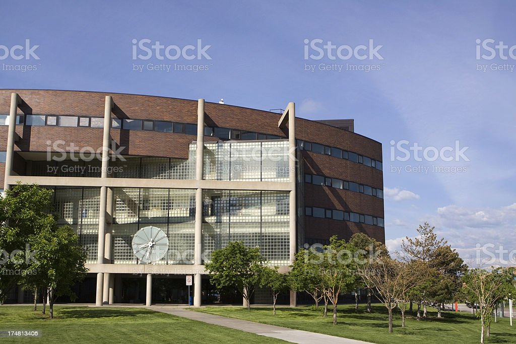 North Classroom Auraria College Campus Denver stock photo