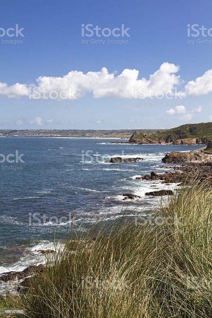North Coast of Jersey Island, UK stock photo