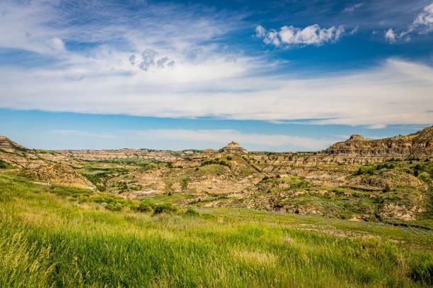 North Dakota Badlands stock photo