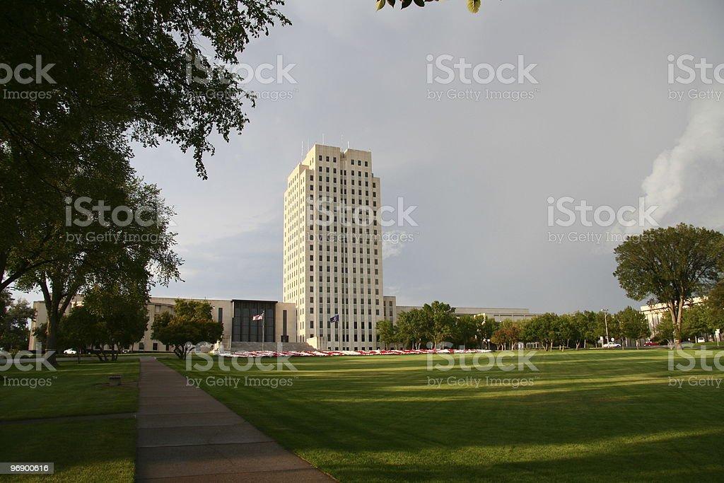 North Dakota Capital royalty-free stock photo