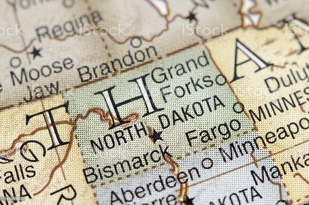 North Dakota royalty-free stock photo