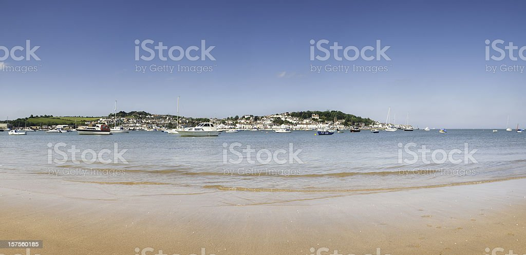 North Devon coastline beach scenic. stock photo