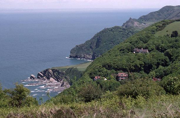North Devon Coastline stock photo