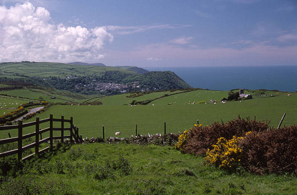 North Devon Coastline #2 stock photo