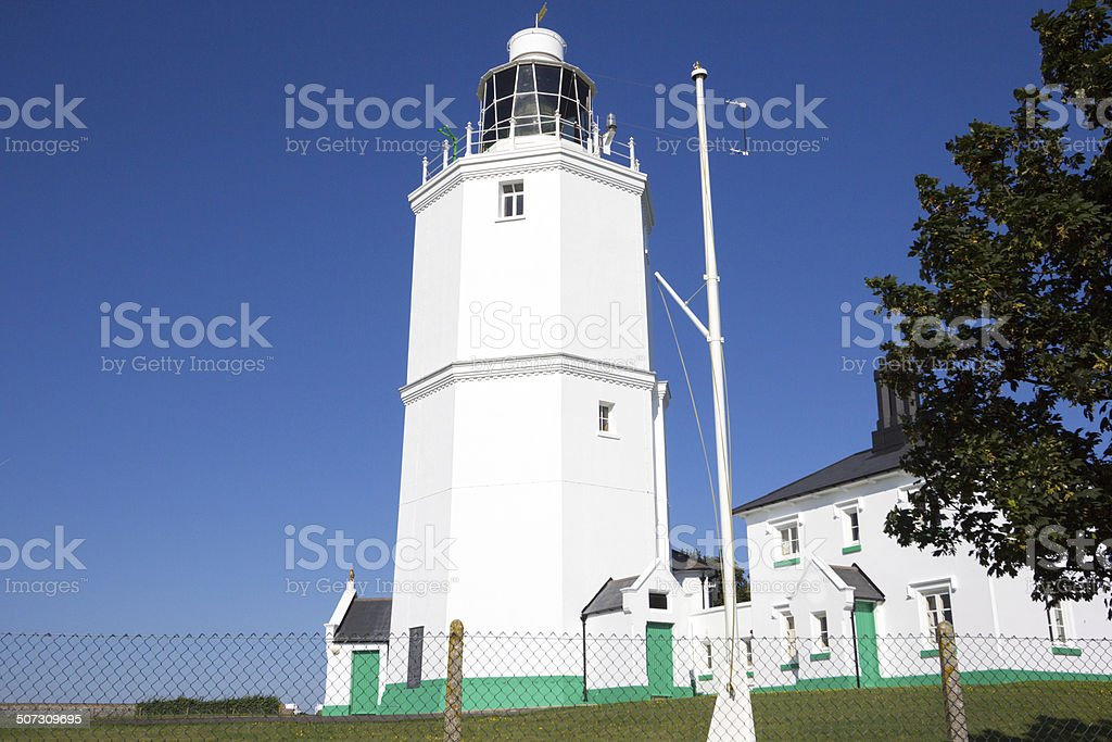 North Foreland Lighthouse in Broadstairs, England royalty-free stock photo